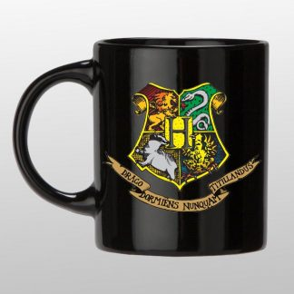 Harry Potter Hogwarts Black coffee mug