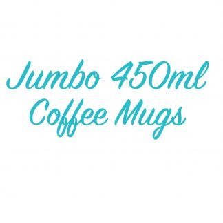 Jumbo 450ml Coffee mugs