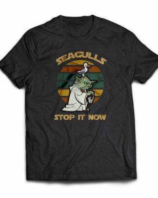 Seagulls stop it now Yoda T-shirt