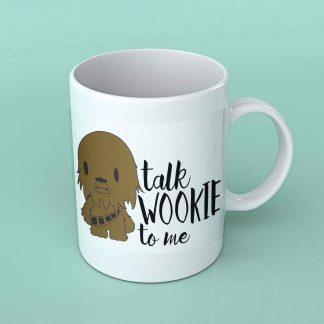 Talk Wookie to me Coffee mug