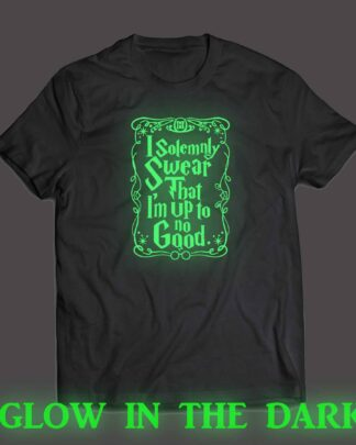 Harry Potter I solemnly swear Glow in the Dark T-shirt