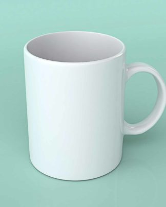 Blank Sublimation white 11oz coffee mug