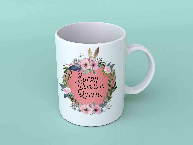 Mug Every Queen Mom A Coffee Is yb76fg