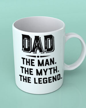 Dad the man the myth the legend Coffee mug