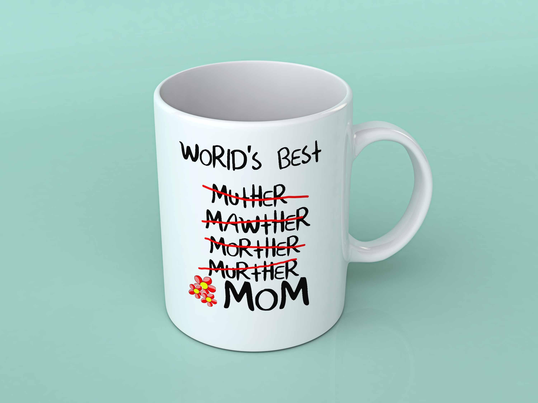 be6bf8cbeb3 World's best Mom coffee Mug - Mugman