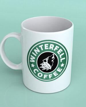 Game of thrones Winterfell coffee mug