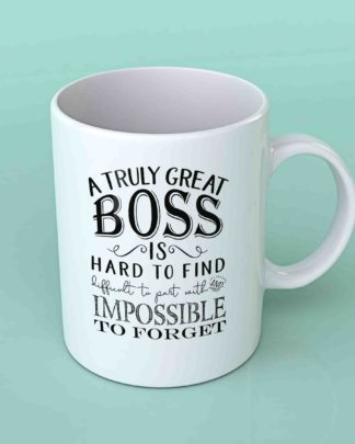 A truly great boss coffee mug