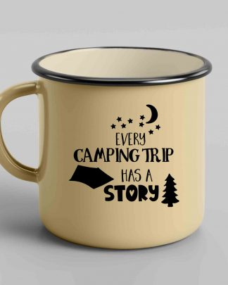 Every camping trip has a story