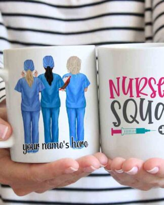 Nurse squad Coffee mug