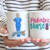 Pediatric nurse coffee mug