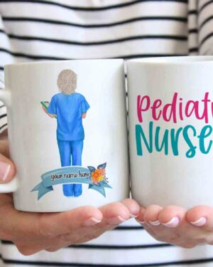Pediatric nurse coffee mug