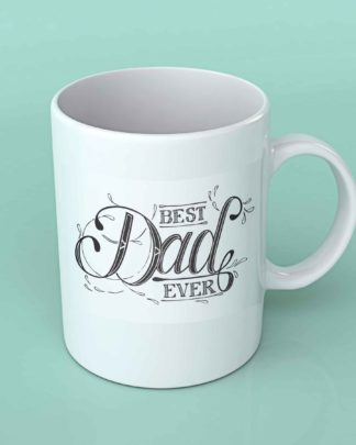 Best Dad ever coffee mug 1