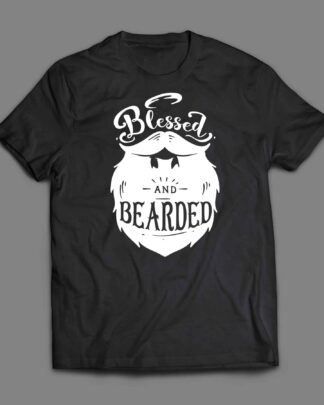 Blessed and Bearded T-shirt