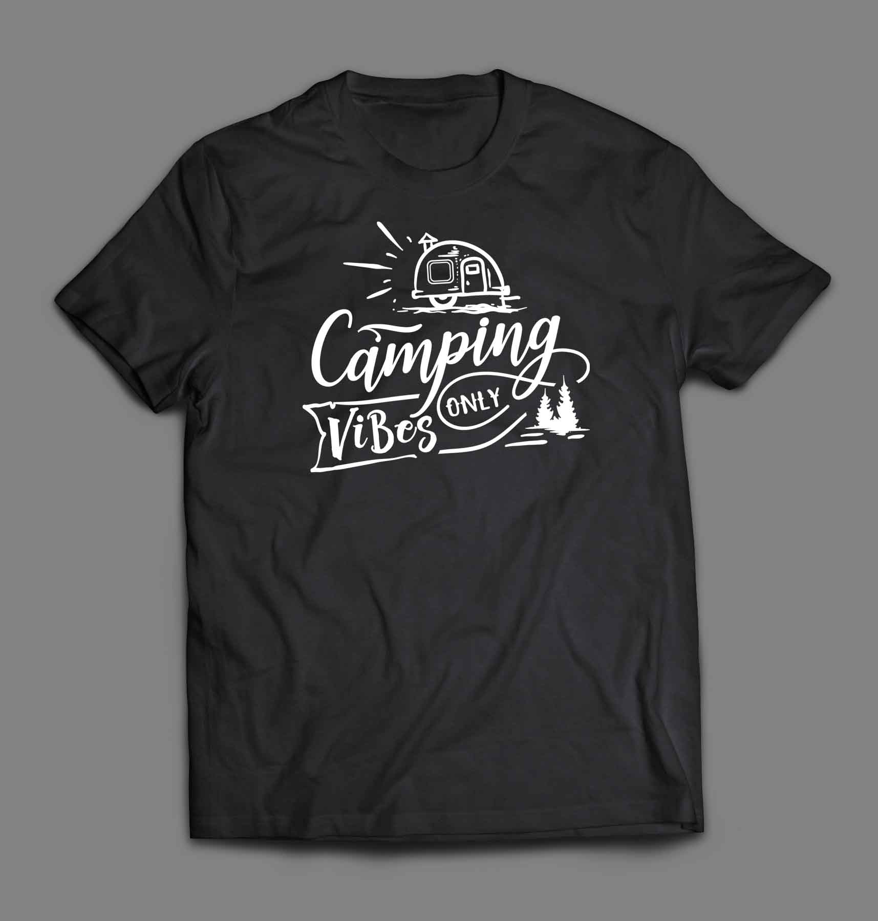 Camping vibes only T-shirt