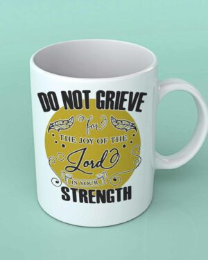 Do not grieve coffee mug