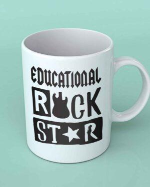 Educational rockstar Coffee mug