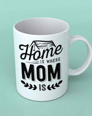 Home is where Mom is coffee mug