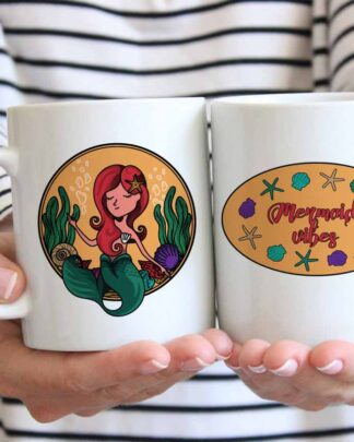 Mermaid vibes Coffee mug