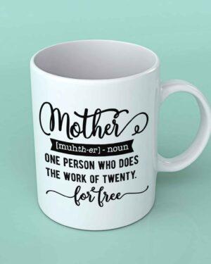 Mother definition Coffee mug