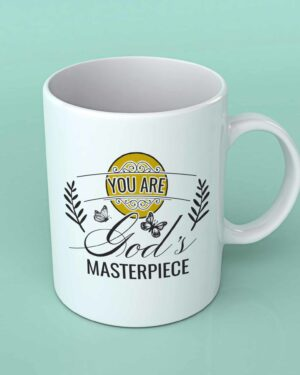 You are God's Masterpiece Coffee mug