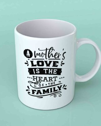 A mother's love is the heart Coffee mug