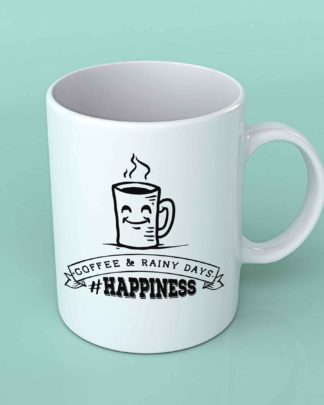 Coffee and rainy days Coffee mug