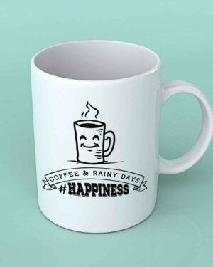 Coffee and rainy days Coffee mug