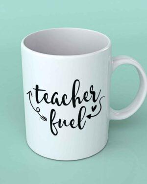 teacher fuel coffee mug