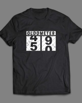 Oldometer 50th Birthday Cotton T-shirt