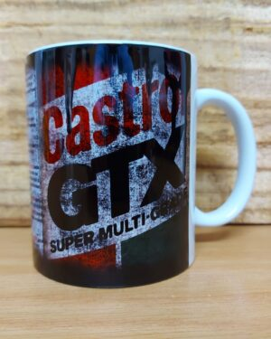 Castrol GTX dirty Oil can retro coffee mug