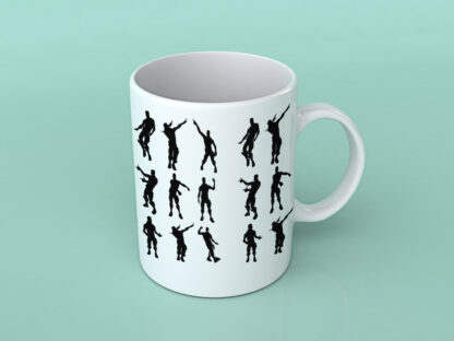 Fortnite dances Coffee mug