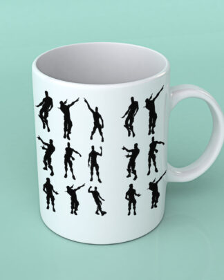 Fortnite dances Coffee mug
