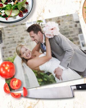 Glass Cutting Board personalised with photo