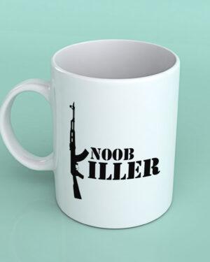 Noob killer Fortnite coffee mug