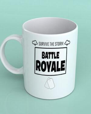 Survive the storm Fortnite coffee mug