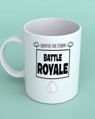 Survive the storm Fortnite coffee mug