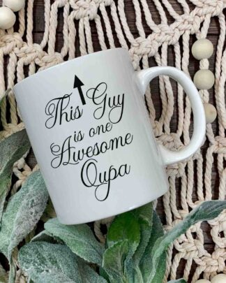 This Guy is one Awesome Oupa coffee mug