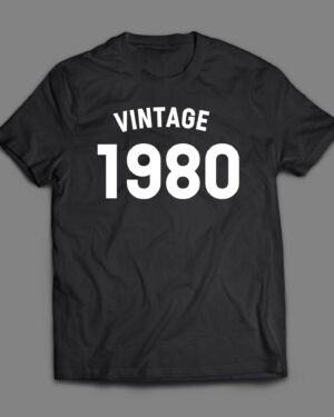 Vintage Birthday T-shirt