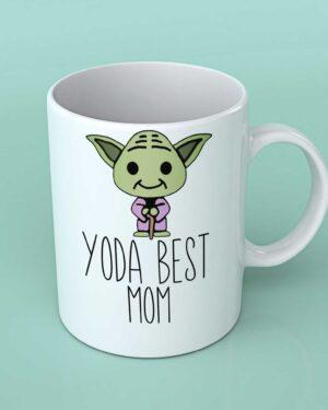 Yoda best Mom coffee mug