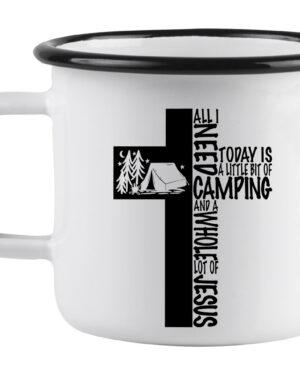 All I need today enamel mug