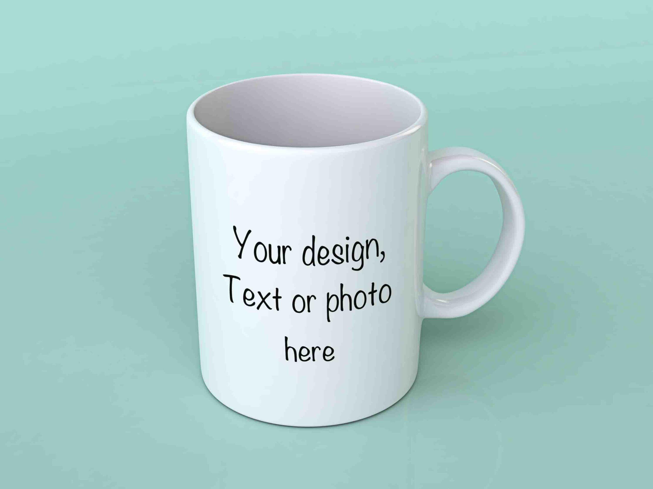 Custom printed coffee mugs