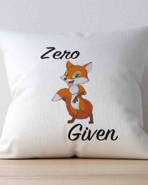 Zero Fox given scatter cushion