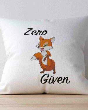 Zero Fox given scatter cushion