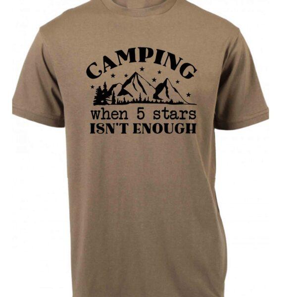 Camping when 5 stars isn't good enough