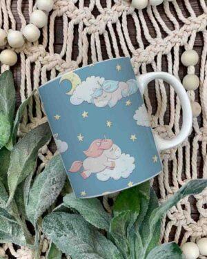 Unicorn pattern 3 coffee mug