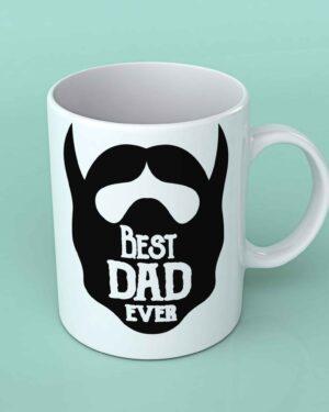 Best Dad ever beard coffee mug